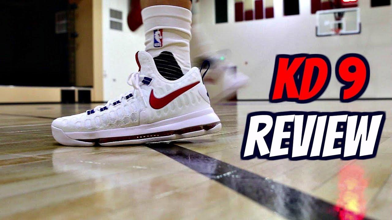 da365f714163 Nike KD 9 Performance Review! - YouTube