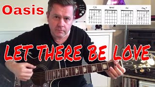 Oasis- Let There Be Love - Acoustic Guitar Lesson