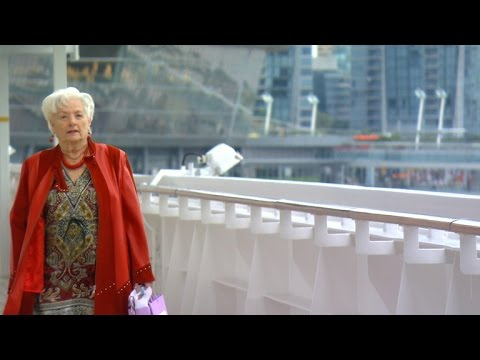 88-year-old retires and lives on cruise ship