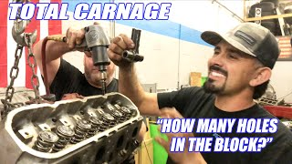 TEARDOWN Of George's CATASTROPHIC Engine FAILURE!