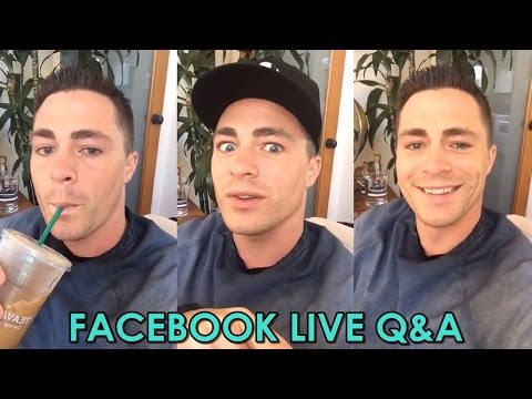 COLTON HAYNES | RETURNING TO TEEN WOLF & ARROW FULL VIDEO | FACEBOOK LIVE Q&A