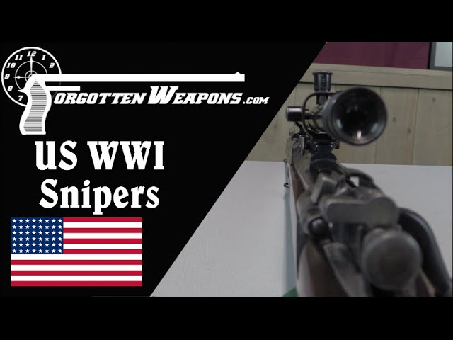 US WWI Sniping Rifles (USMC & Army)