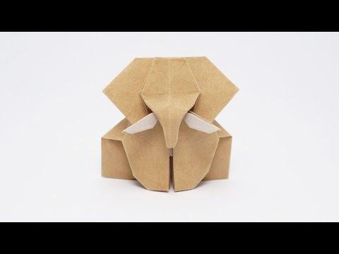 Origami Elephant-Jo Nakashima