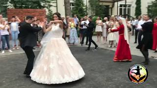 Азербайджанско-Украинская свадьба🎩👰🏻😍—Анс. «Кавказ» в г.Винница