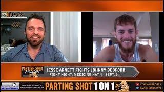 Jesse Arnett talks matchup with UFC veteran Johnny Bedford on Sept. 9th