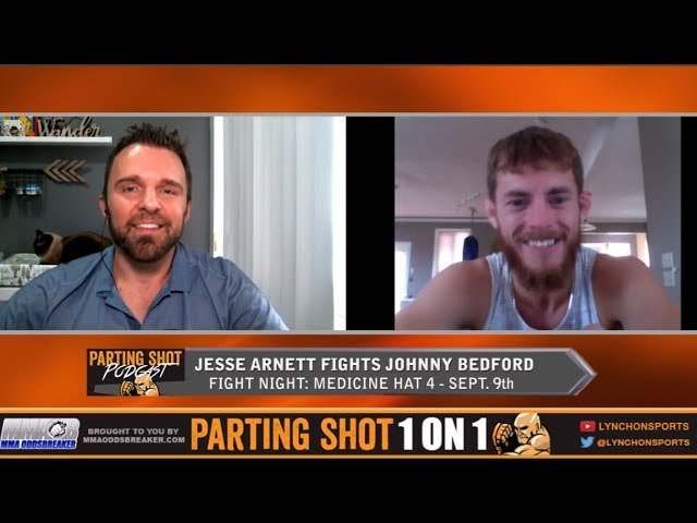 Jesse Arnett talks matchup against UFC veteran Johnny Bedford on Sept. 9th