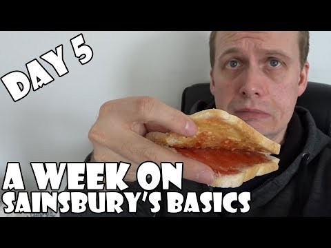 A Week On Sainsbury's Basics DAY 5