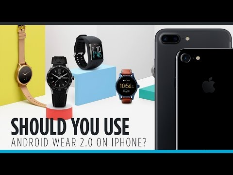 Should You Use Android Wear 2.0 on an iPhone?
