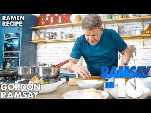 Homemade Ramen Made Quick | Gordon Ramsay