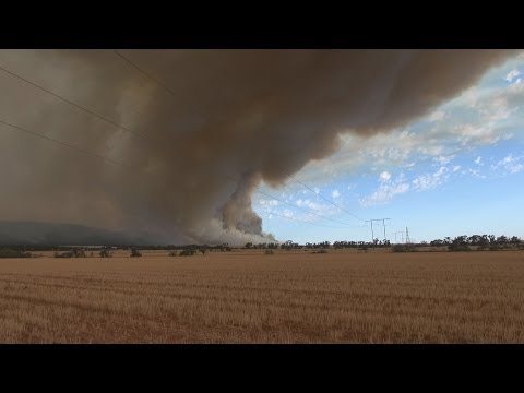 2014 South Australia Flinders Rangers Bush Fire