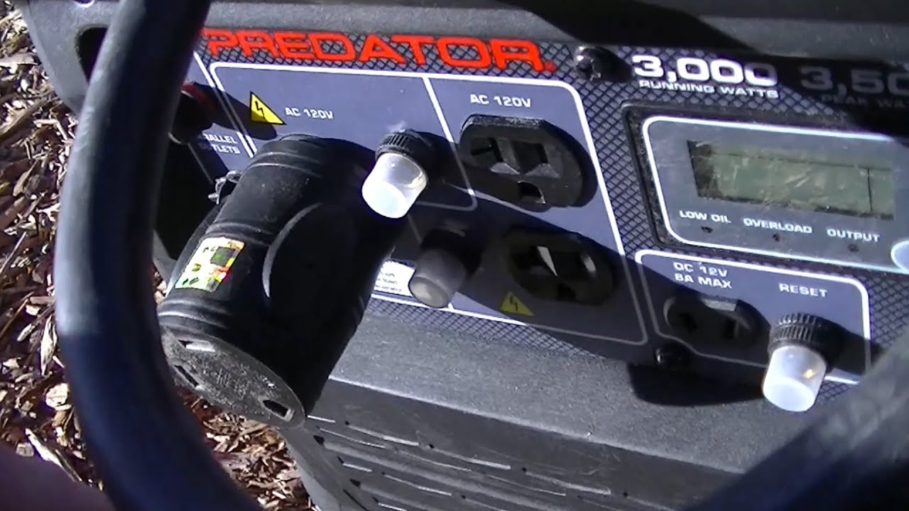 Harbor Freight Predator 3500 Inverter Generator - Will It Run an RV Air  Conditioner?