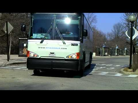 ICC Commuter Bus #174C at Shady Grove