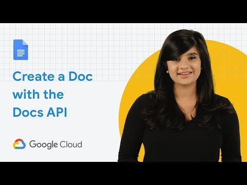 Automate Document Creation With The Google Docs API