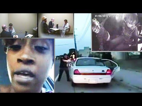 Dash Cams Philando Castile, Diamond Reynolds Phone and All Police Videos