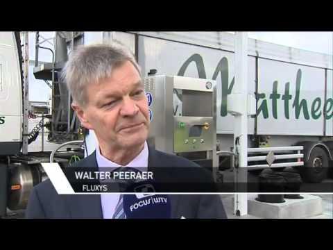 Focus: Eerste LNG-station voor vrachtwagens in Veurne / Mattheeuws Eric Transport