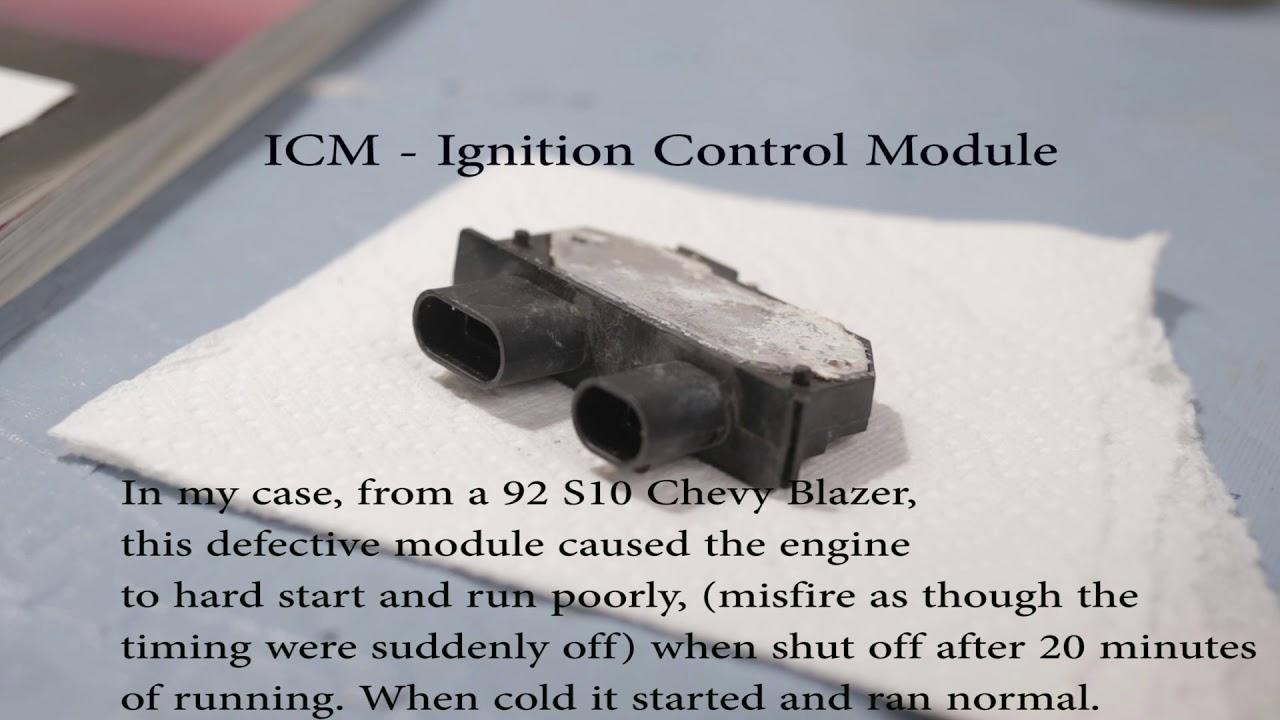 ICM - Ignition Control Module, 92 S-10 Blazer
