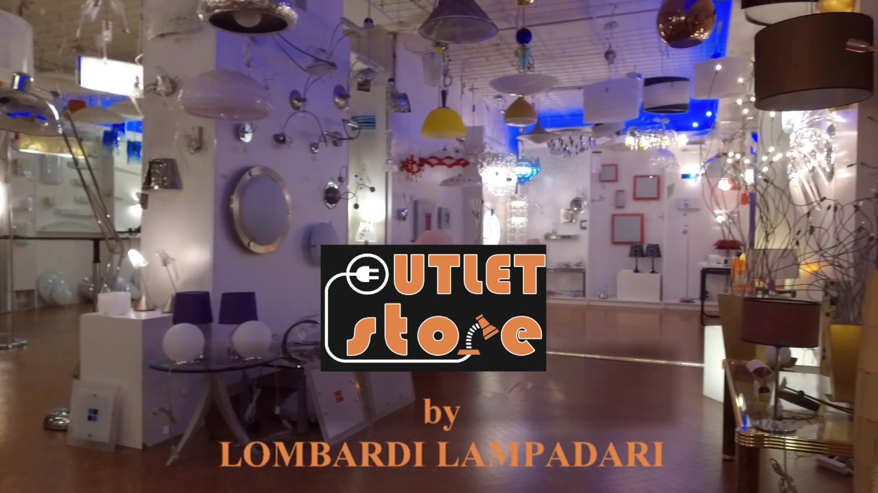 outlet store by Lombardi Lampadari - YouTube