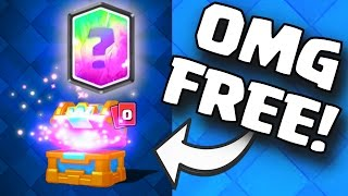 FREE LEGENDARY CARD | Clash Royale HOW TO GET FREE LEGENDARIES / LEGENDARY CHEST CYCLE (FAST EASY)