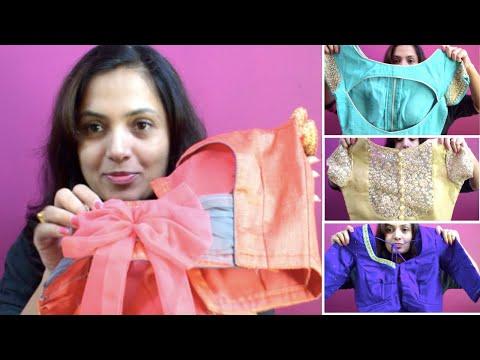 23 ಲೇಟೆಸ್ಟ್ ಬ್ಲೌಸ್ ಡಿಸೈನ್ಸ್ | 23 Latest Blouse Design Patterns and Collection for Sarees | Kannada