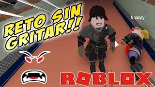 Roblox Flee the Facility Challenge not to scream (It goes wrong)