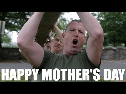 Mother's Day the Marine Way
