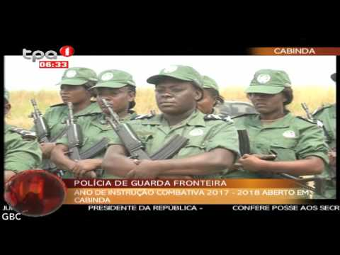 Ano de instrução combativa 2017 2018 aberto em Cabinda