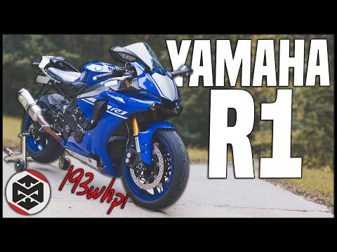 First Ride On The NEW Yamaha R1!