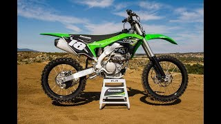 The 2018 bike intros continue at Cahuilla Creek with the 2018 Kawas...