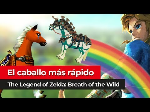 El caballo MÁS RÁPIDO | The Legend of Zelda Breath of the Wild para Nintendo Switch y Wii U
