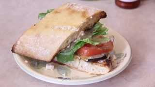 How To: Eggplant Sandwich