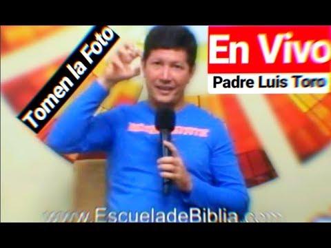 PADRE LUIS TORO EN VIVO Desde canal Católico de USULUTAN EL SALVADOR