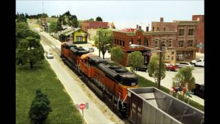 La Grange presentation & BNSF coal train