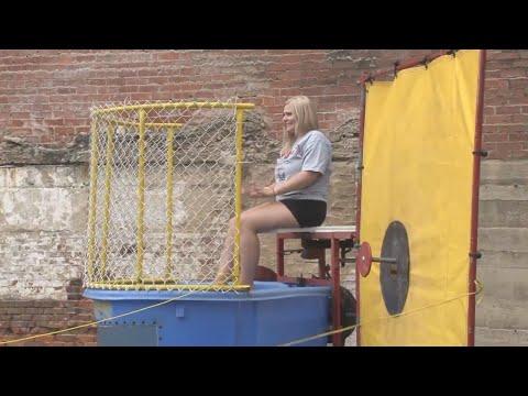 Dunk tank raises money for Augusta Levy Learning Center