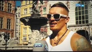 Александр УСИК. Экскурсия по Гданьску 🎬 polsatsport.pl Usyk zwiedza Gdańsk