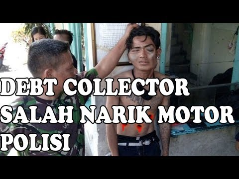 Debt Collector Leasing salah sikat motor milik Polisi