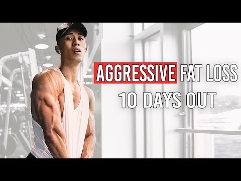 Aggressive Fat Loss Plan (Full Day of Eating) | 10 Days Out