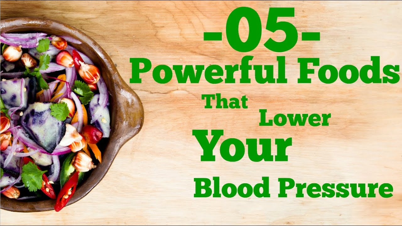 5 powerful foods that lower blood pressure youtube 5 powerful foods that lower blood pressure forumfinder Image collections
