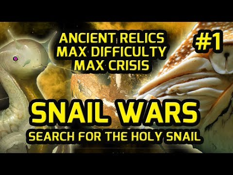 Stellaris ANCIENT RELICS DLC Gameplay Part #1 Let's Play Highest Difficulty + Roleplay SNAIL WARS