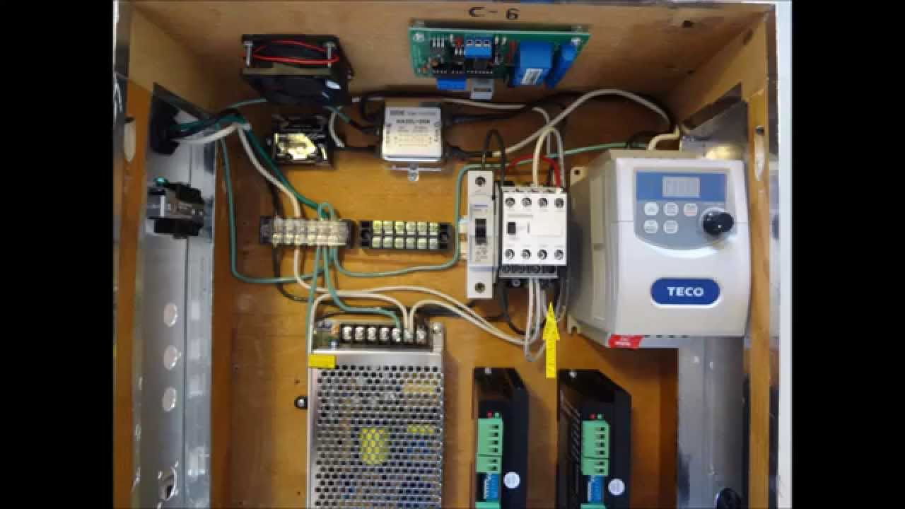small resolution of g0602 project part 7 electronics cabinet wiring 110 v