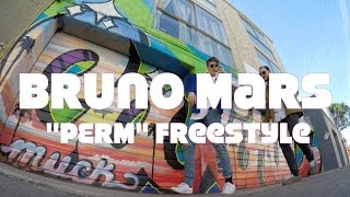"Bruno Mars ""Perm"" | Freestyle | @iamcastlerock @markus_isopp"