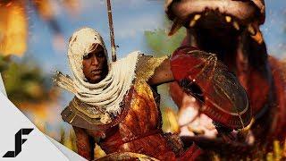 ANIMAL WARFARE - Assassin's Creed Origins (Xbox One X Gameplay)