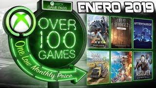 Juegos GamePass Enero 2019 4 juegos mas I XboxOne