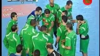 لقطات لا تنسى من نصف نهائي كرة اليد الإفريقية بين الجزائر ومصر