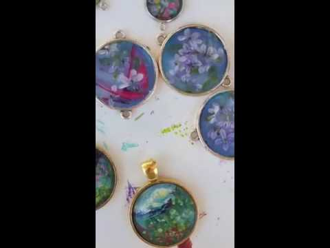 Creating hand painted miniature masterpieces