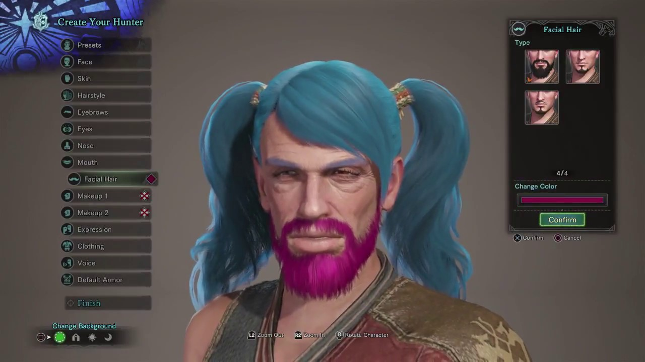 Monster Hunter World Character Creation / Character Customization ...