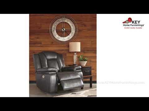 Ashley Garristown Power Recliner 1910313 Key Home Youtube