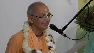 2019.06.05 - Бхакти Вигьяна Госвами Махарадж - 3 лекция - эмоции и сердце