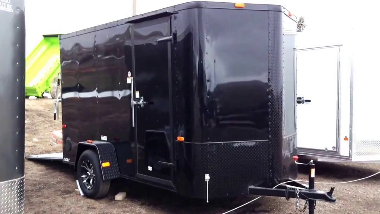New 2016 Cargo Craft 6x12 Enclosed Trailer For Sale Colorado Trailers Inc