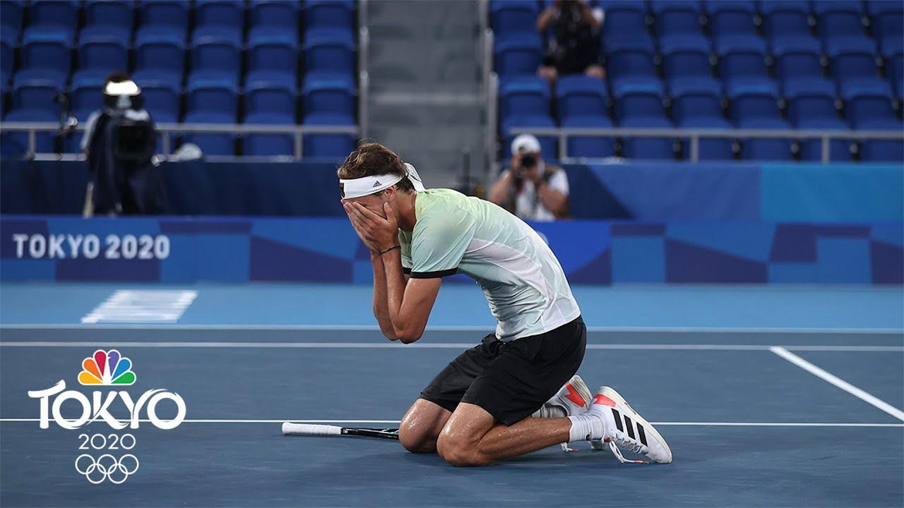 Alexander Zverev storms to historic gold medal in men's singles | Tokyo Olympics | NBC Sports