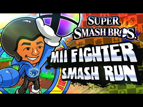 Super Smash Bros 3DS - (1080p) Part 3 - Smash Run w/Mii Fighter
